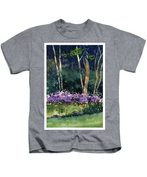 Phlox Meadow, Harrington State Park Kids T-Shirt
