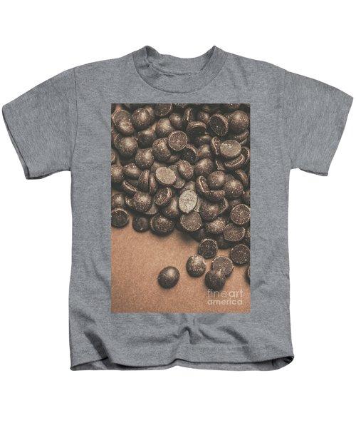 Pile Of Chocolate Chip Chunks Kids T-Shirt