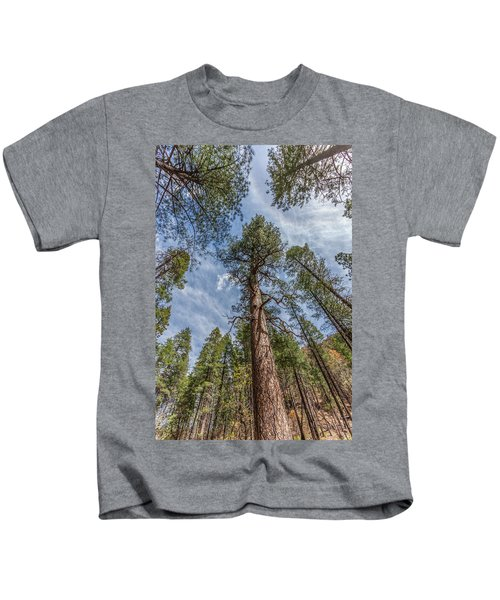Pine Cathedral On The West Fork Kids T-Shirt