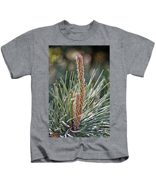 Pine Shoots Kids T-Shirt