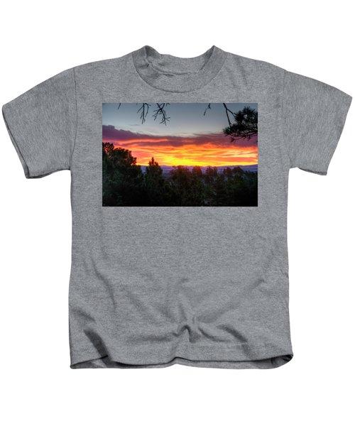 Pine Sunrise Kids T-Shirt
