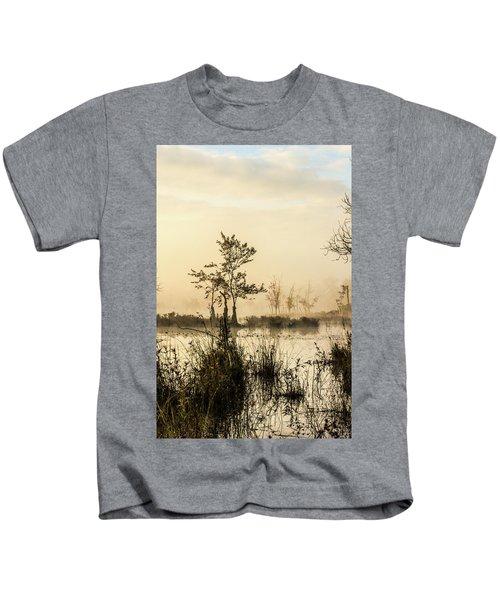 Pinelands - Mullica River Kids T-Shirt