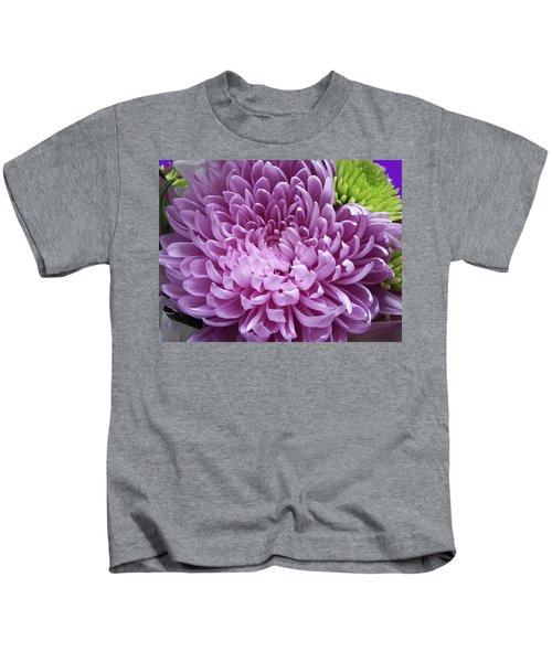 Pink And Green Defined Kids T-Shirt