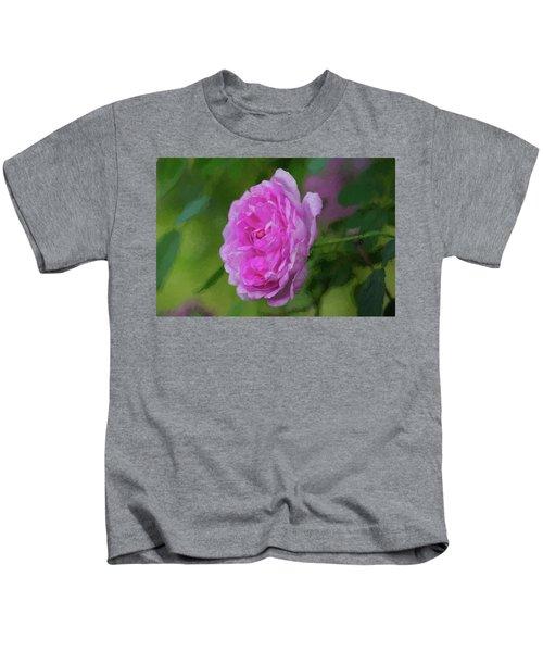 Pink Beauty In Bloom Kids T-Shirt