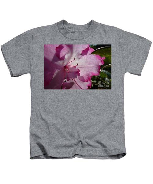 Pink Flowers 1 Kids T-Shirt