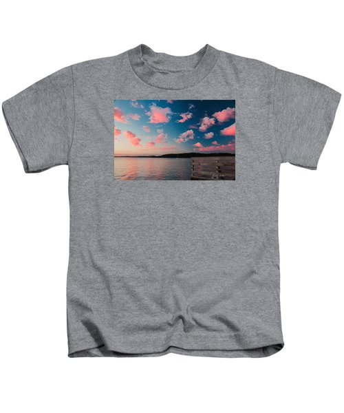 Pink Fluff In The Air Kids T-Shirt