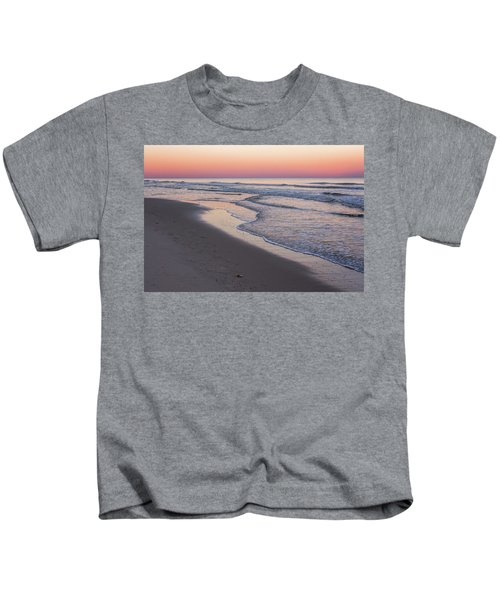 Pink Glow Seaside New Jersey 2017 Kids T-Shirt