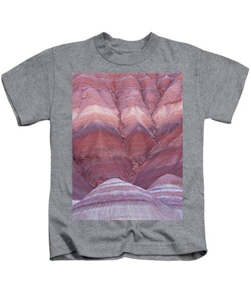 Pink Hills Kids T-Shirt
