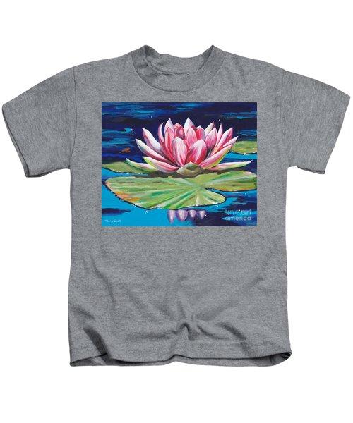Pink Tranquility Kids T-Shirt