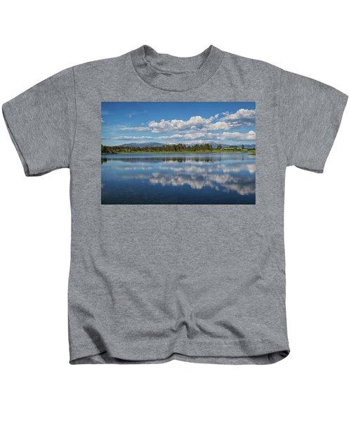 Pinon Lake Reflections Kids T-Shirt