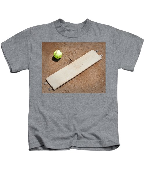 Pitchers Mound Kids T-Shirt