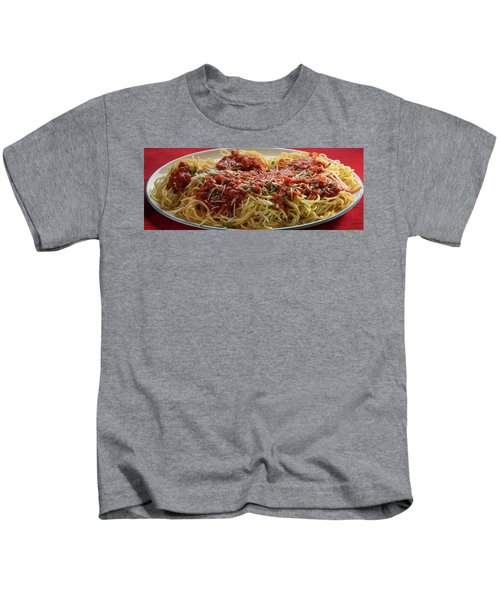 Plated Pasta Kids T-Shirt