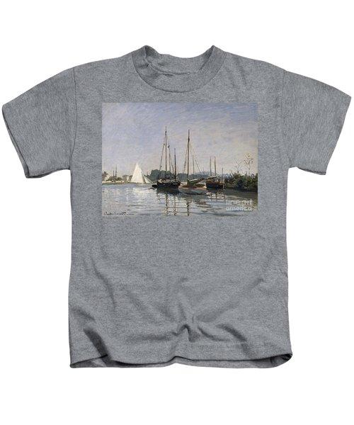 Pleasure Boats Argenteuil Kids T-Shirt