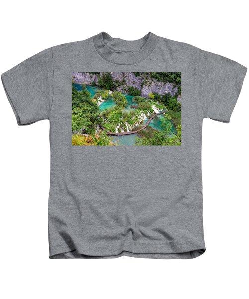 Plitvice Lakes National Park Kids T-Shirt