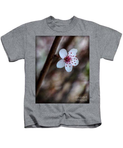 Plum Flower Kids T-Shirt
