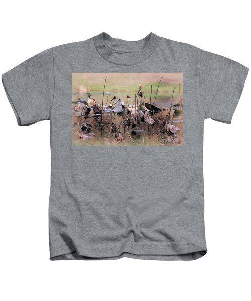 Pods At Sunset Kids T-Shirt
