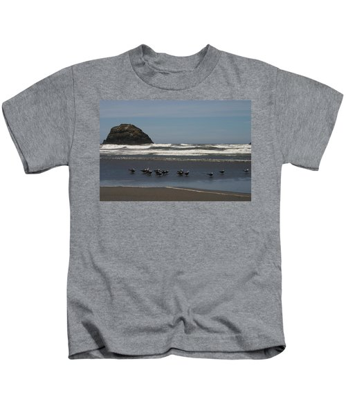 Poetry In Motion Kids T-Shirt