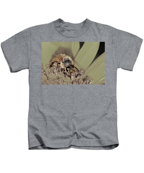 Pollinating Bee Kids T-Shirt