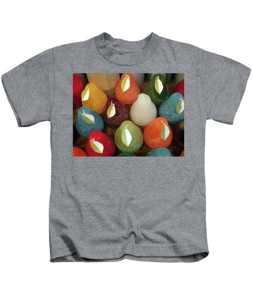 Polychromatic Pears Kids T-Shirt