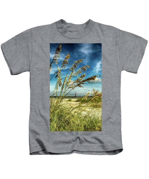 Ponce Inlet Lighthouse Kids T-Shirt