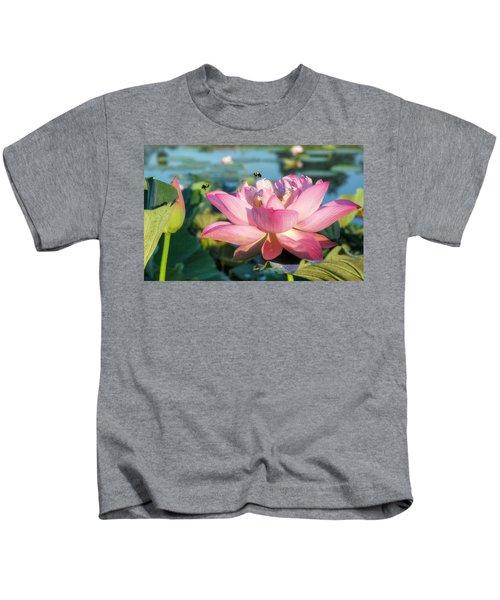 Pond Bees Kids T-Shirt
