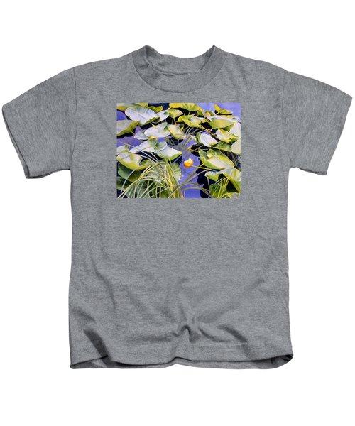 Pond Lilies Kids T-Shirt