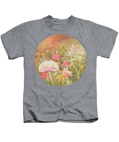 Poppies In The Light Kids T-Shirt