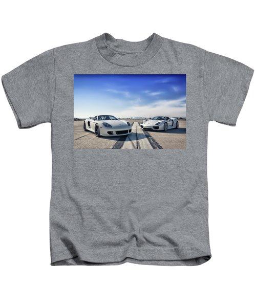 #porsche #carreragt And #918spyder Kids T-Shirt
