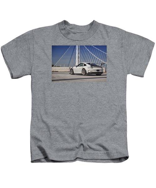 Porsche Gt3rs Kids T-Shirt