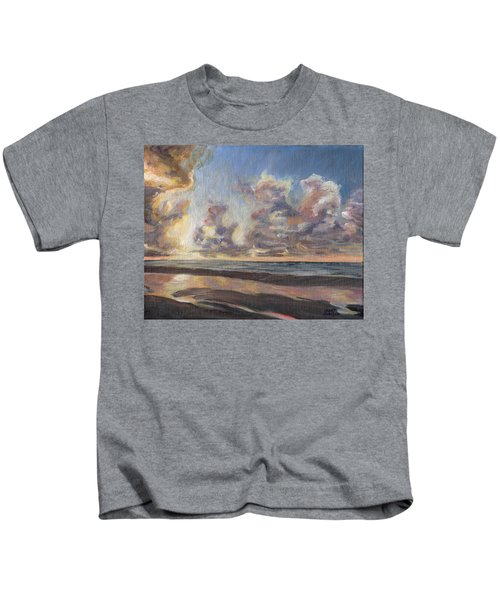 Port Aransas Sunrise Kids T-Shirt