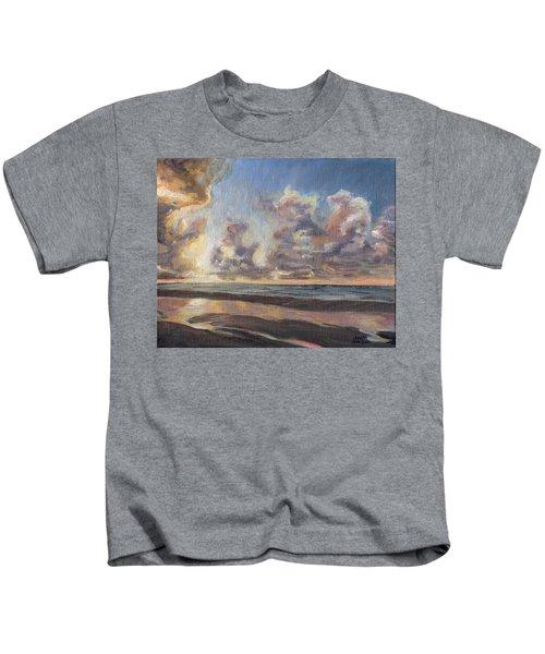 Port Aransas Sunrise Kids T-Shirt
