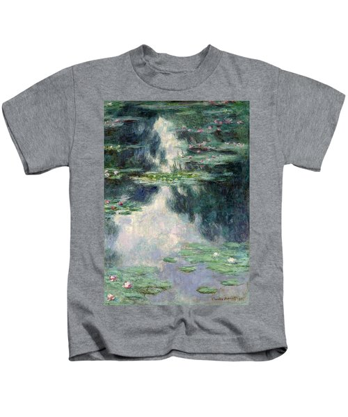 Port-pond With Water Lilies-1907 Kids T-Shirt