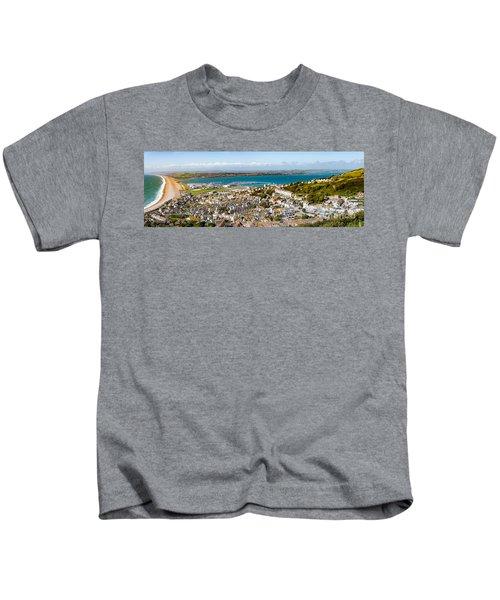 Portland And Chesil Beach Kids T-Shirt