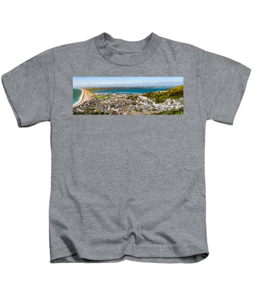 Portland And Chesil Beach Kids T-Shirt