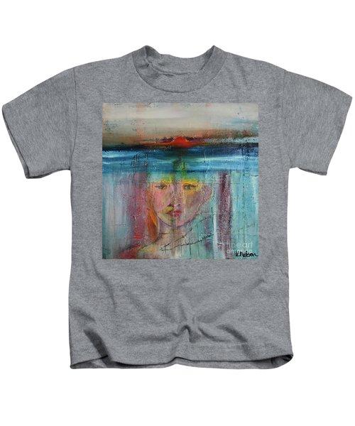 Portrait Of A Refugee Kids T-Shirt