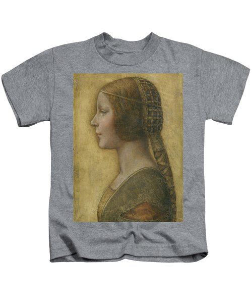 Portrait Of A Young Fiancee Kids T-Shirt