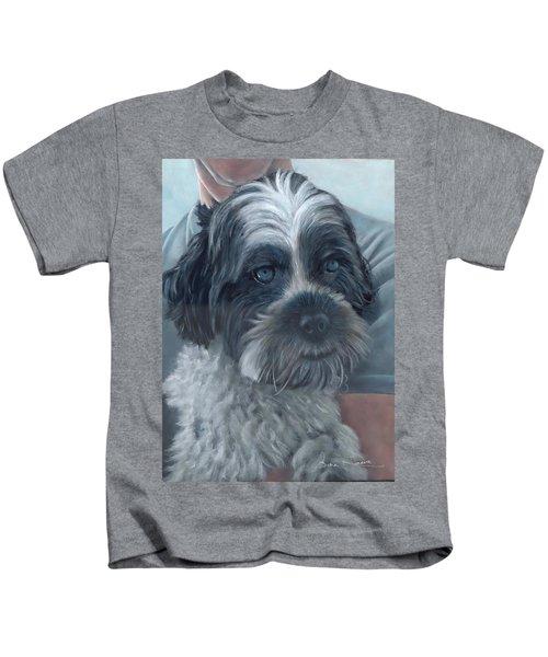 Portrait Of Charley Kids T-Shirt