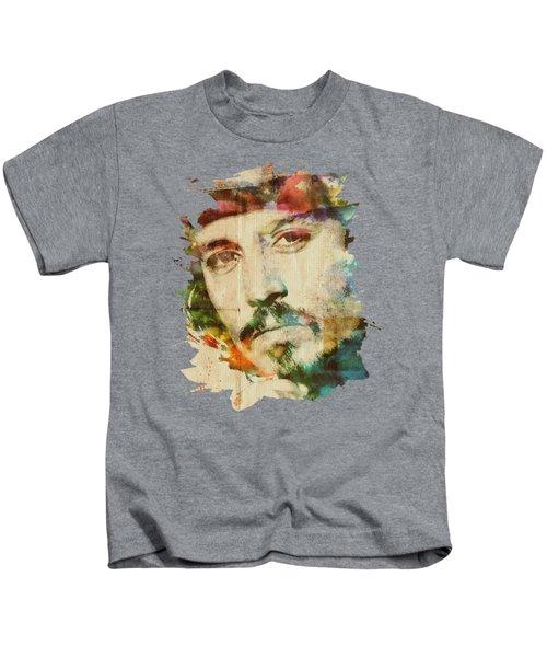 Portrait Of Johnny Kids T-Shirt