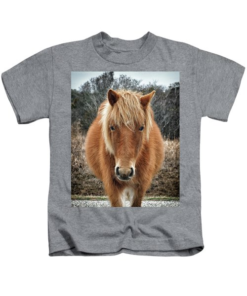 Portrait Of Mieke's Noe'lani Kids T-Shirt