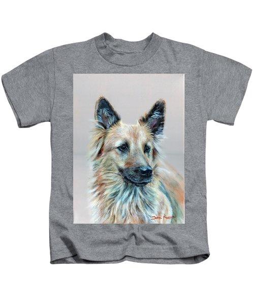 Portrait Of Sasha Kids T-Shirt