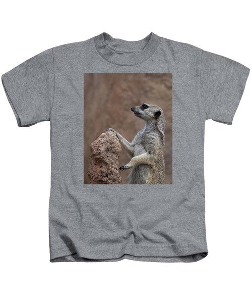 Pose Of The Meerkat Kids T-Shirt