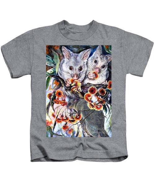 Possum Family Kids T-Shirt