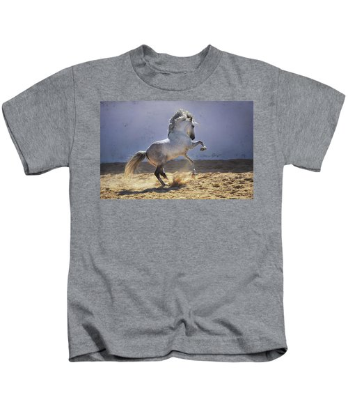 Power In Motion Kids T-Shirt