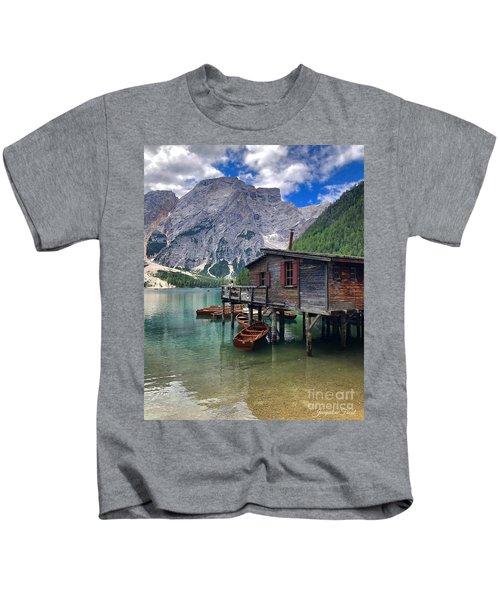 Pragser Wildsee View Kids T-Shirt