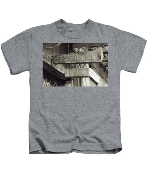 Preservation Hall, French Quarter, New Orleans, Louisiana Kids T-Shirt