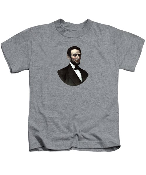 President Abraham Lincoln  Kids T-Shirt by War Is Hell Store