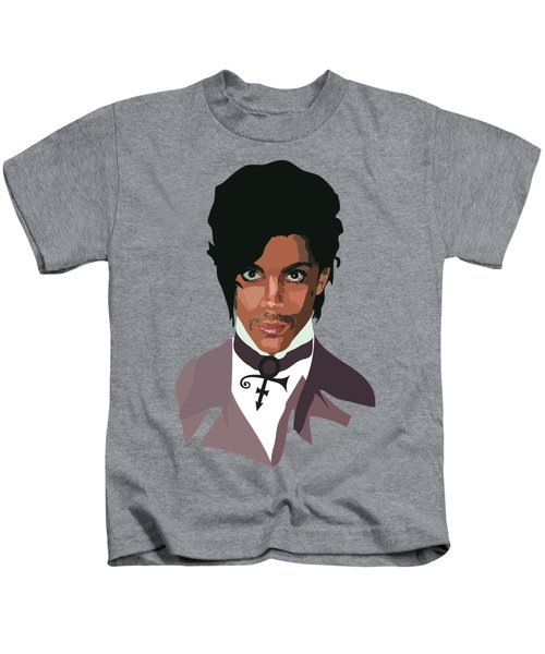 Prince With Symbol Kids T-Shirt