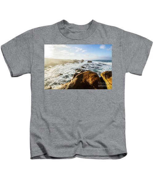 Pristine Tasmanian Coast Kids T-Shirt