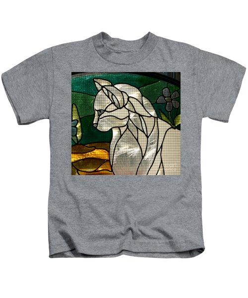 Profile Of A Cat Kids T-Shirt