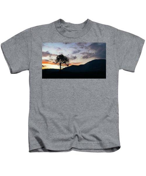 Provence, France Sunset Kids T-Shirt